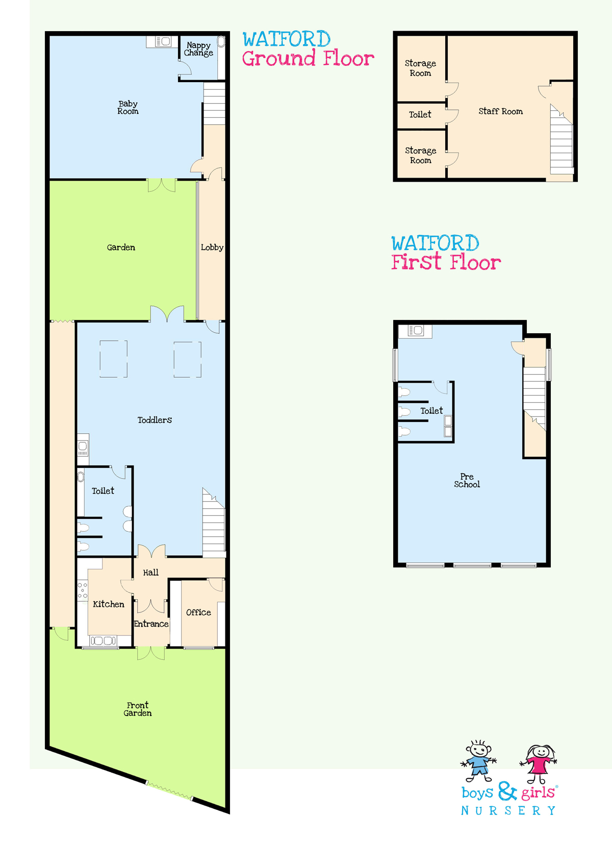 Preschool nursery watford boys girls nursery for Floor plan websites