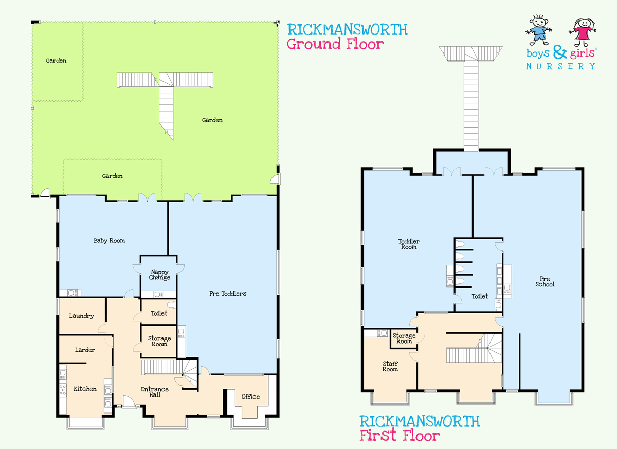 Pre school nursery in rickmansworth boys girls nursery for Floor plan websites