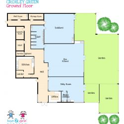 Croxley Green nursery room layout