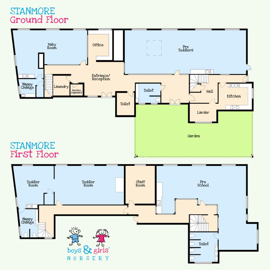 Stanmore nursery room layout